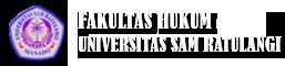 Fakultas Hukum Unsrat | Fakultas Hukum Unsrat